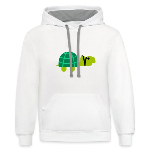 Life moves pretty fast - Contrast Hoodie