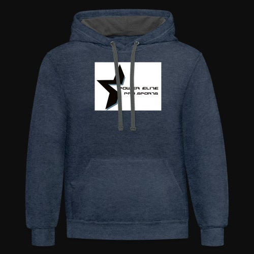 Star of the Power Elite - Contrast Hoodie