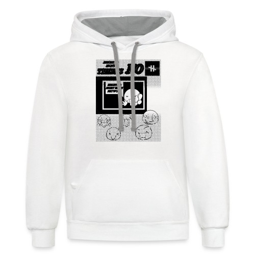 BRIGHTER SIGHT NEWS NETWORK - Contrast Hoodie