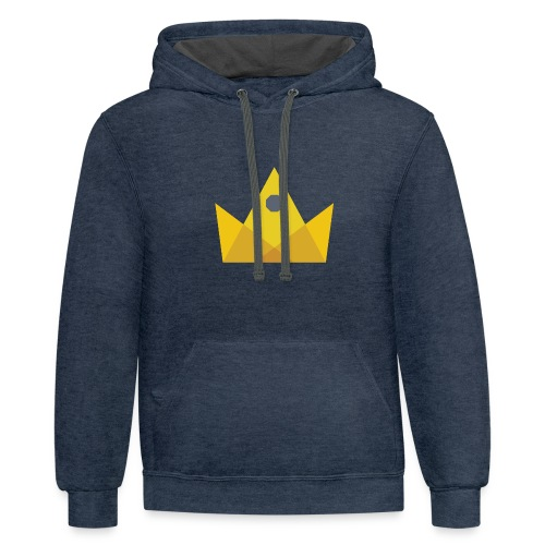 I am the KING - Contrast Hoodie