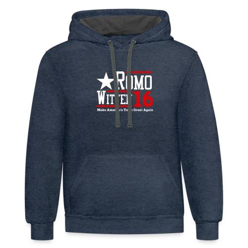 Make America's Team Great Again - Unisex Contrast Hoodie