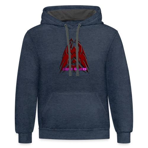 3XILE Games Logo - Contrast Hoodie