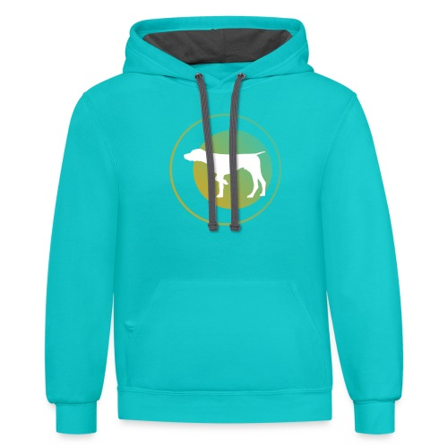 German Shorthaired Pointer - Contrast Hoodie