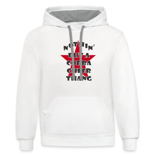 It's A Cobra Thang - Contrast Hoodie