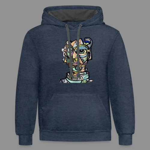 The Machinist - Contrast Hoodie