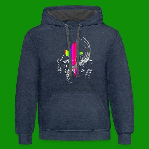 Another Gay Christian - Unisex Contrast Hoodie