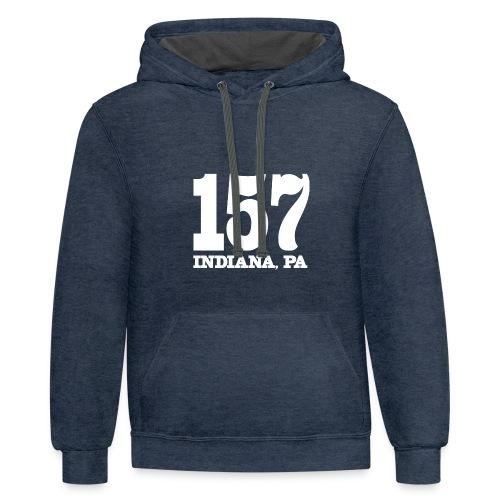 157 Indie Tee - Contrast Hoodie