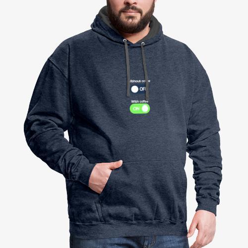 Coffee Lover T-Shirt - Contrast Hoodie