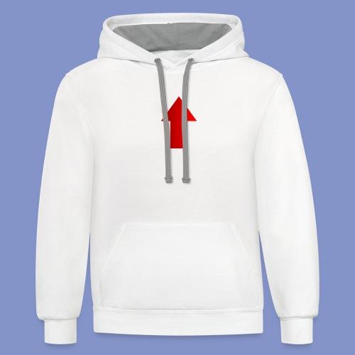 Self-Describing T-Shirt - Contrast Hoodie
