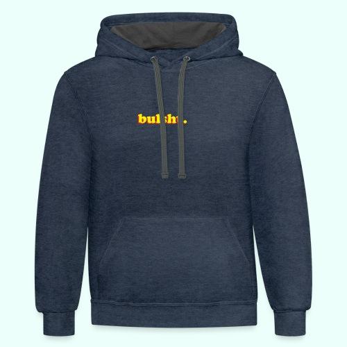 BulSht. Logo - Contrast Hoodie