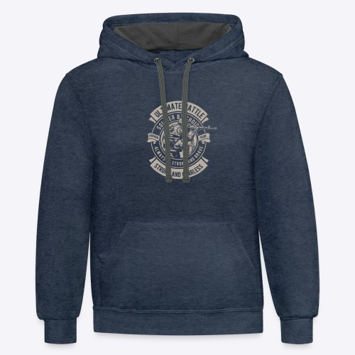 Soldier by choice - Contrast Hoodie