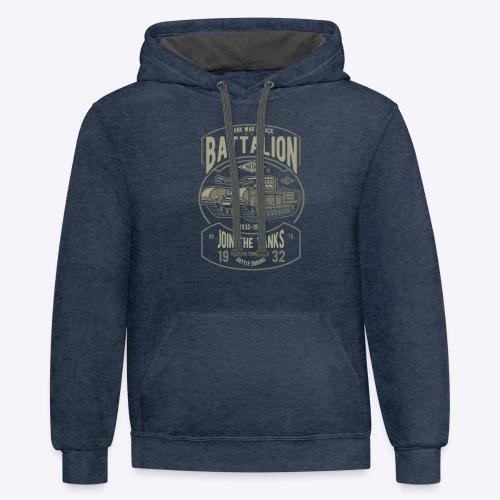Battalion - Contrast Hoodie