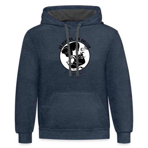 So Bearish, I'm Bullish - Pete the Cooler - Contrast Hoodie