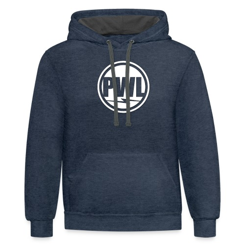 Perth Weather Live Logo - Contrast Hoodie