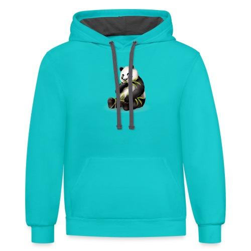 Hungry Panda - Contrast Hoodie