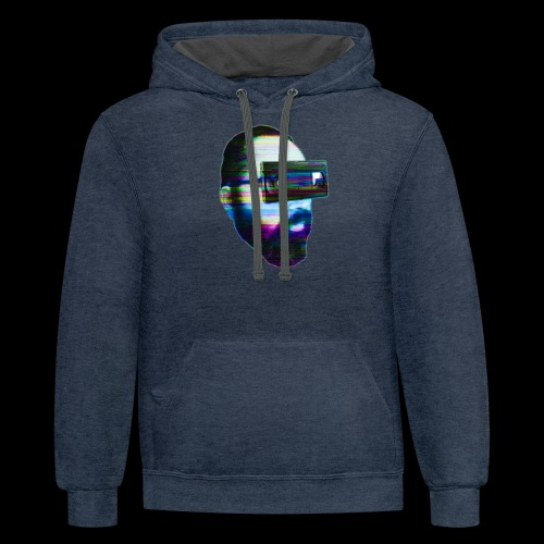 Spaceboy Music - Glitched - Contrast Hoodie