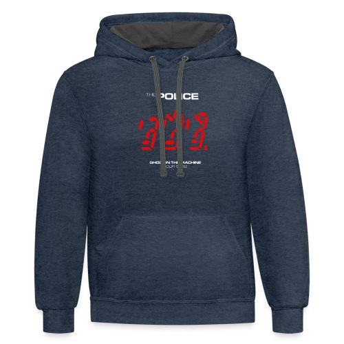 Ghost in the Machine - Contrast Hoodie