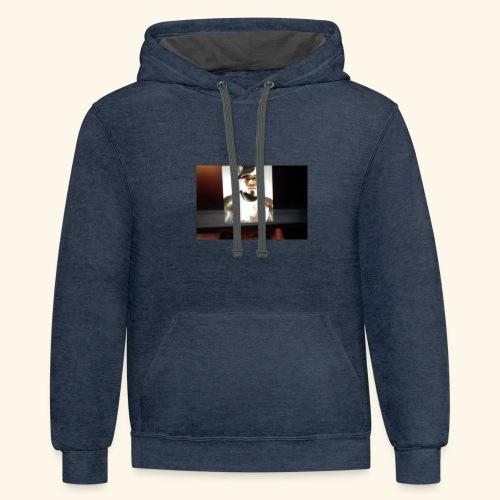 50 cent hoodie - Contrast Hoodie