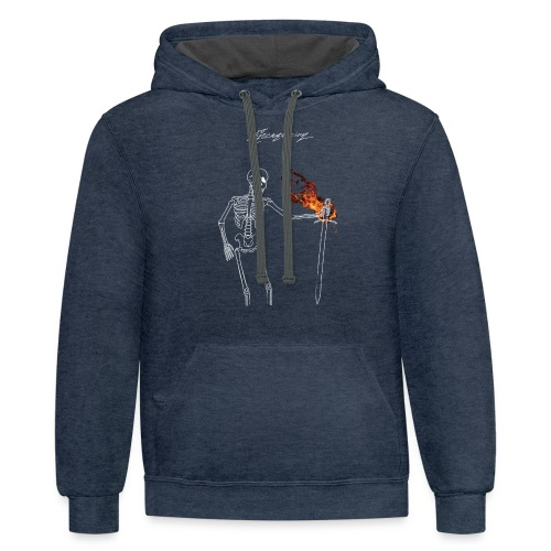 Dissent - Contrast Hoodie