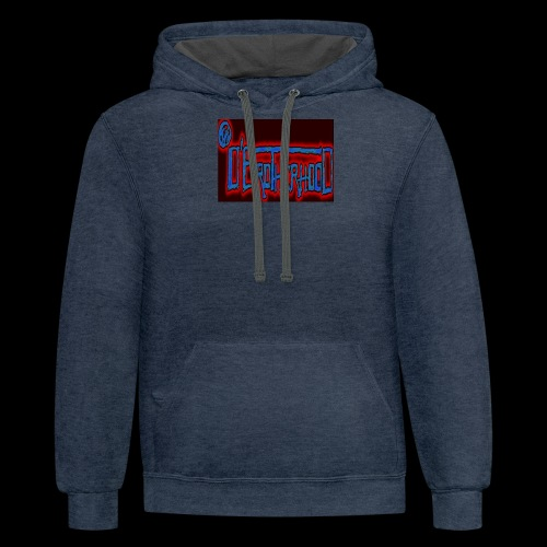 The D'BroTHerHooD Logo - Contrast Hoodie