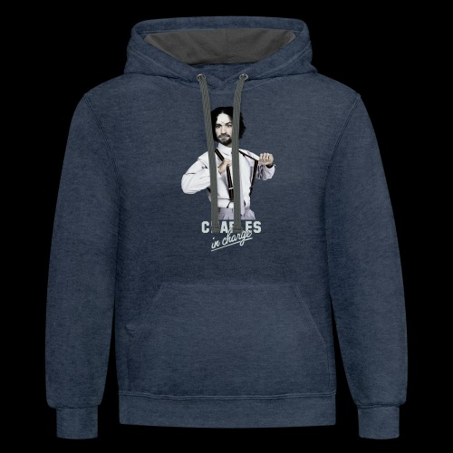 CHARLEY IN CHARGE - Unisex Contrast Hoodie