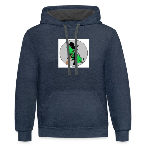 Main Channel Logo - Contrast Hoodie
