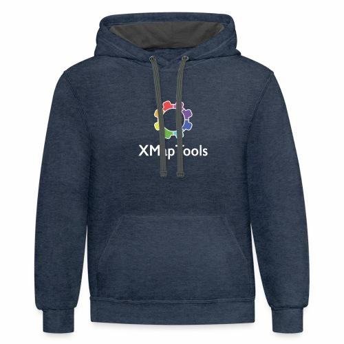 XMapTools - Unisex Contrast Hoodie