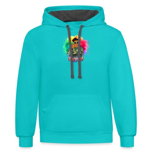 NEW MGTV Clout Shirts - Contrast Hoodie