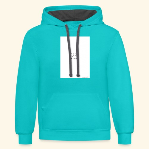 Unbothered - Contrast Hoodie