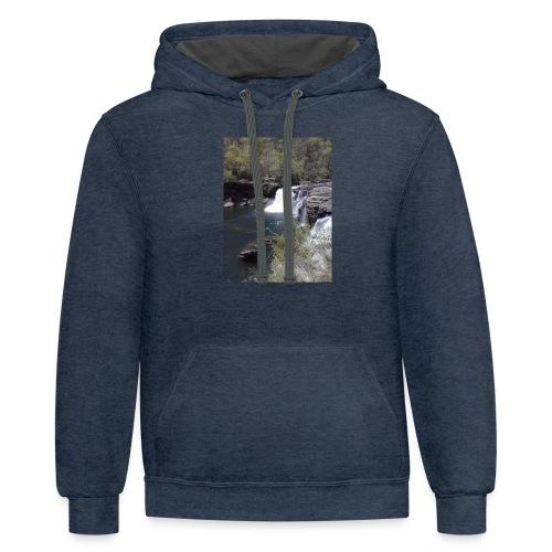 LRC waterfall - Contrast Hoodie