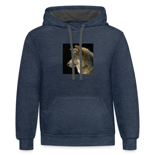 my old THUMBNAIL!!!!!!! - Unisex Contrast Hoodie