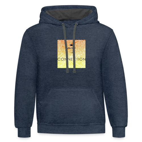 Conection T Shirt - Unisex Contrast Hoodie