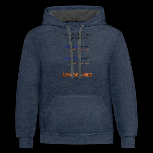 Code Styling Preference Shirt - Contrast Hoodie