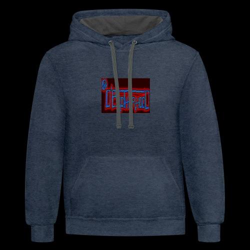 The D'BroTHerHooD Logo - Contrast Hoodie