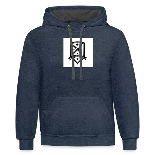 Official Logo - Unisex Contrast Hoodie