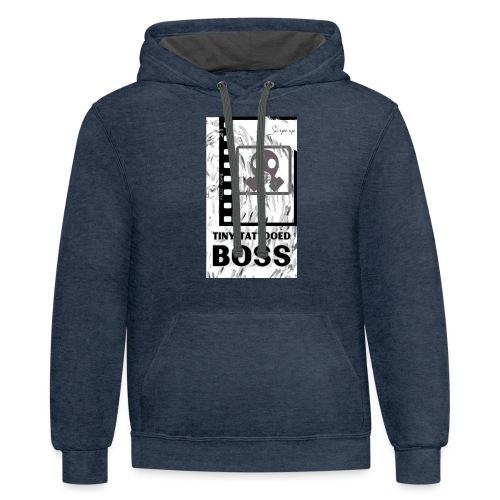 BOSS Film - Unisex Contrast Hoodie
