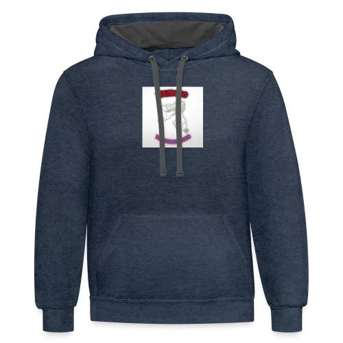 YBS T shirts - Contrast Hoodie