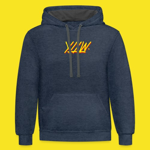 YLLW - Contrast Hoodie