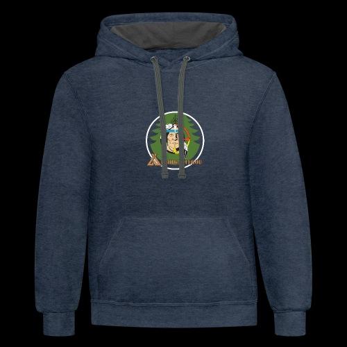 Archigantegou Logo Color - Unisex Contrast Hoodie