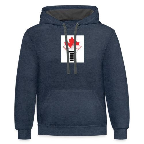 Yemeni Canadian Club - Contrast Hoodie