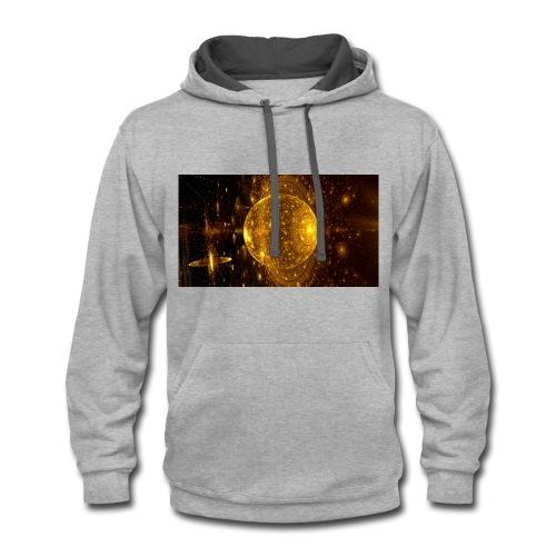 Golden Planet - Contrast Hoodie