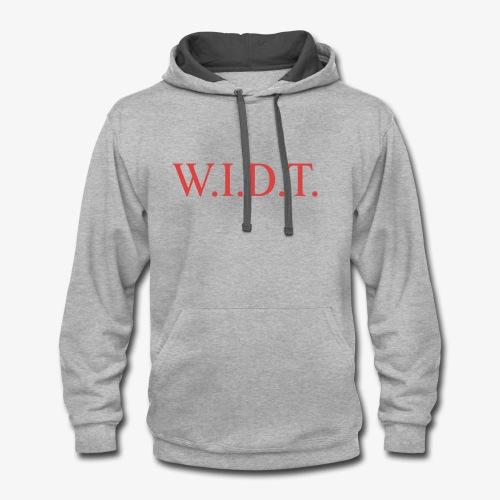 WIDT - Contrast Hoodie