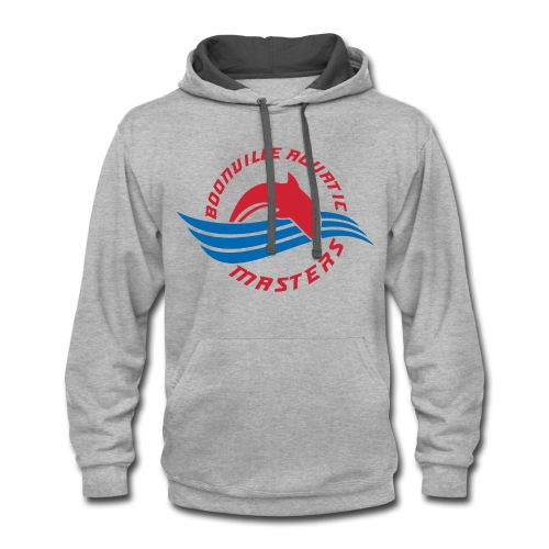Boonville Aquatic Masters Swimming - Contrast Hoodie