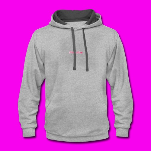 Perfection (design 7) - Contrast Hoodie