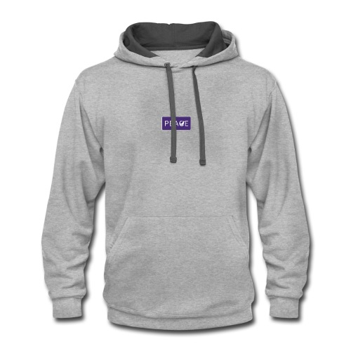 images 3peace - Contrast Hoodie