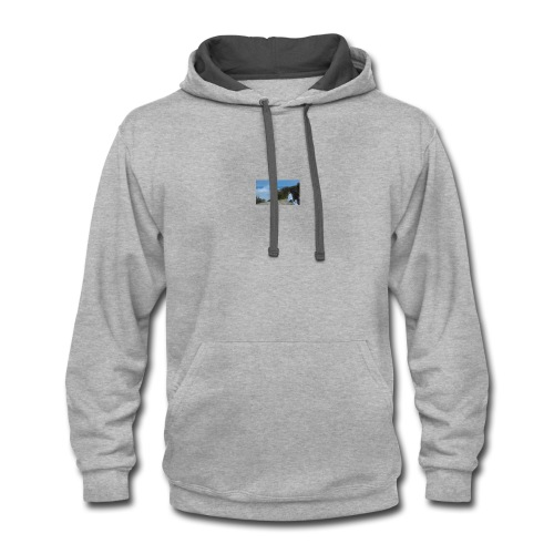 SHE'S MY DAUGHTER - Contrast Hoodie