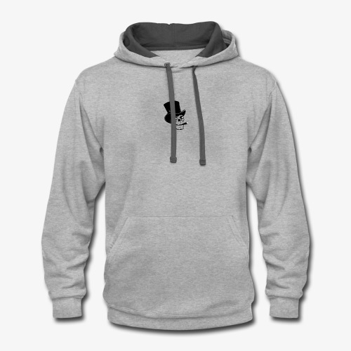Swag Skeleton - Contrast Hoodie