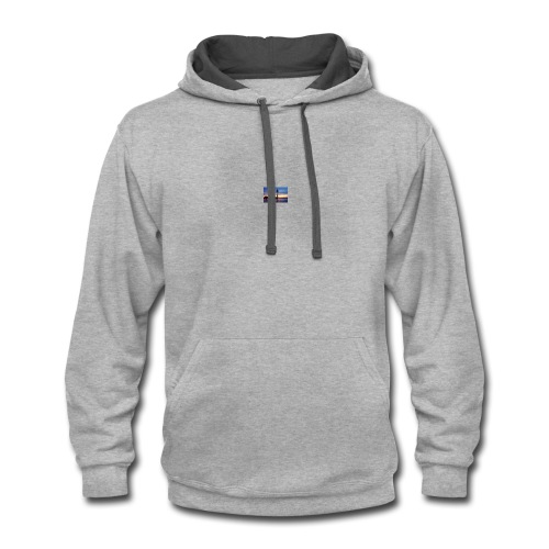 Lighthouse beauty - Contrast Hoodie