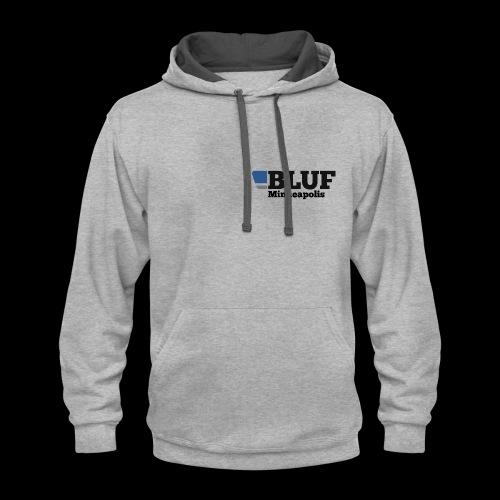 BLUF Minneapolis - Contrast Hoodie