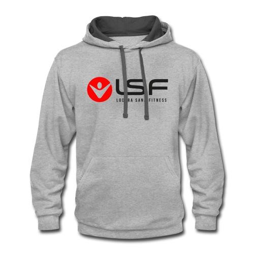 LSF Logo Black - Contrast Hoodie